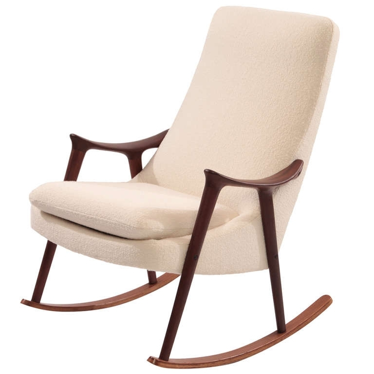 Upholstered Rocking Chairs With Recent Upholstered Rocking Chair : Milton Milano Designs – Upholstered (View 8 of 20)