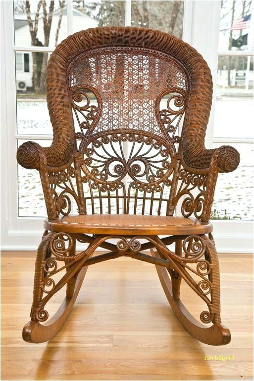 Victorian Rocking Chair Wicker Rocking Chair Cushions A Modern Looks Within Latest Antique Wicker Rocking Chairs (Gallery 17 of 20)