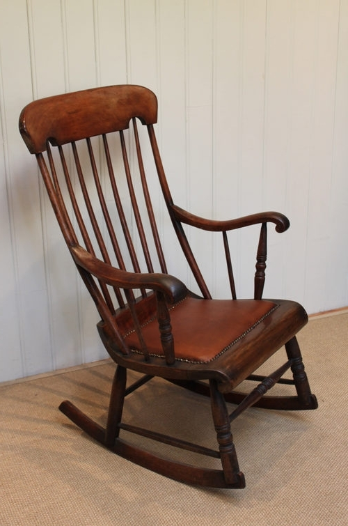 Victorian Rocking Chairs For Best And Newest Victorian Fruitwood Rocking Chair – Antiques Atlas (View 13 of 20)