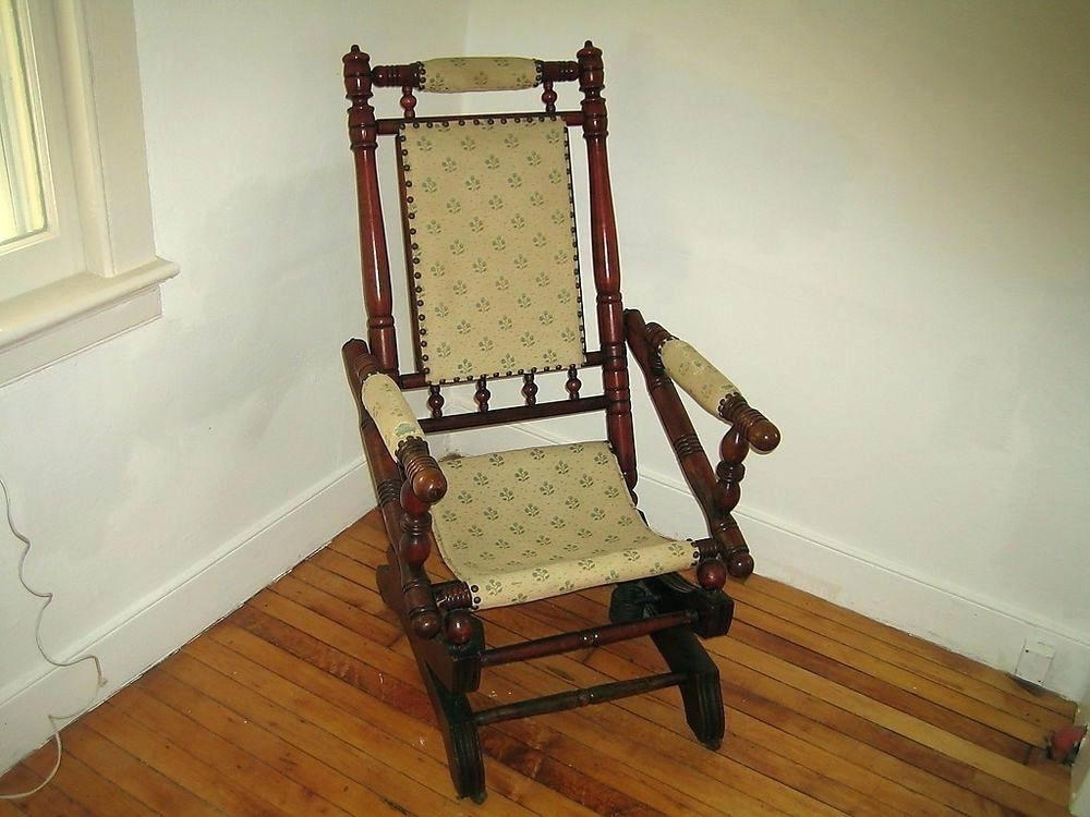 Victorian Rocking Chairs For Fashionable Victorian Rocking Chair – Mllehannahbelle (View 14 of 20)