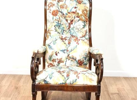 Victorian Rocking Chairs Inside Well Known Victorian Rocking Chair A Mahogany Rocking Chair Antique Victorian (Gallery 20 of 20)