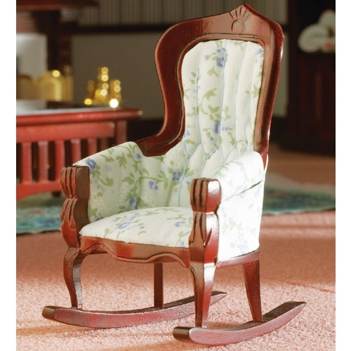 Victorian Rocking Chairs Regarding Most Recent Dolls House Victorian Rocking Chair – Rb Models (View 17 of 20)