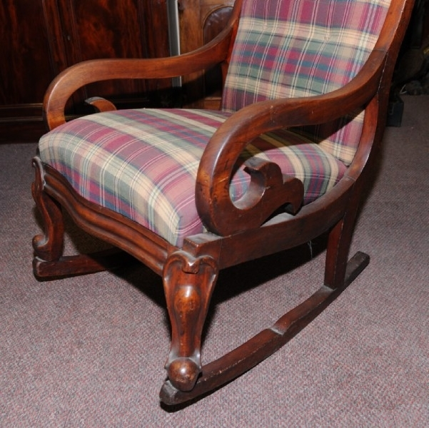 Victorian Rocking Chairs Within Well Known A Victorian Mahogany Rocking Chair (View 19 of 20)