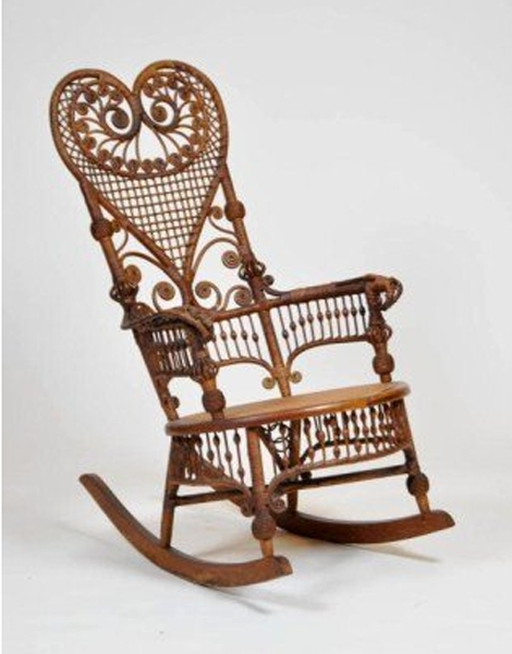 Victorian Wicker Rocking Chair – Would Love To Get My Hands On This With 2017 Wicker Rocking Chair With Magazine Holder (View 15 of 20)