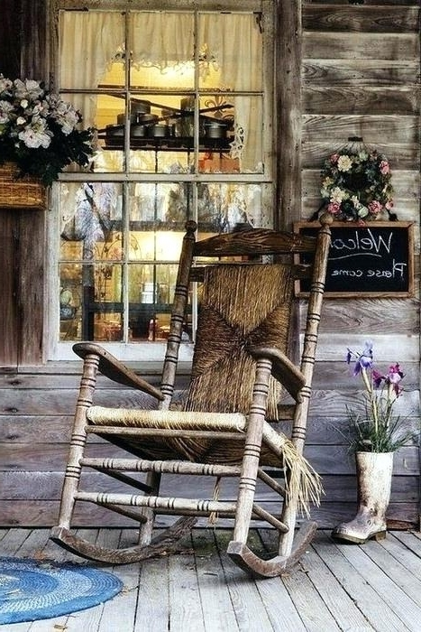 Vintage Outdoor Rocking Chairs Inside 2018 Vintage Outdoor Rocking Chair Vintage Outdoor Rocking Chair Vintage (View 14 of 20)