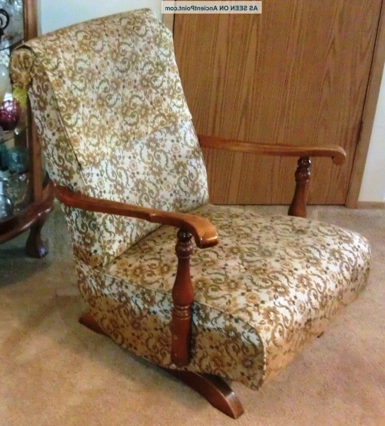 Vintage Spring Rocking Chair Intended For Latest Rocking Chairs With Springs (Gallery 6 of 20)
