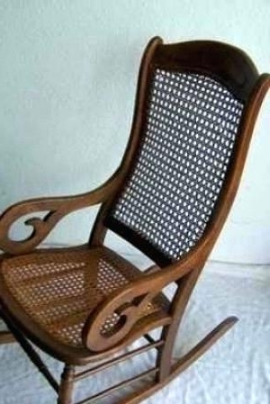 Vintage Wicker Rocking Chairs Throughout Newest Antique Rocking Chair Identification Antique Rocking Chairs Vintage (View 4 of 20)