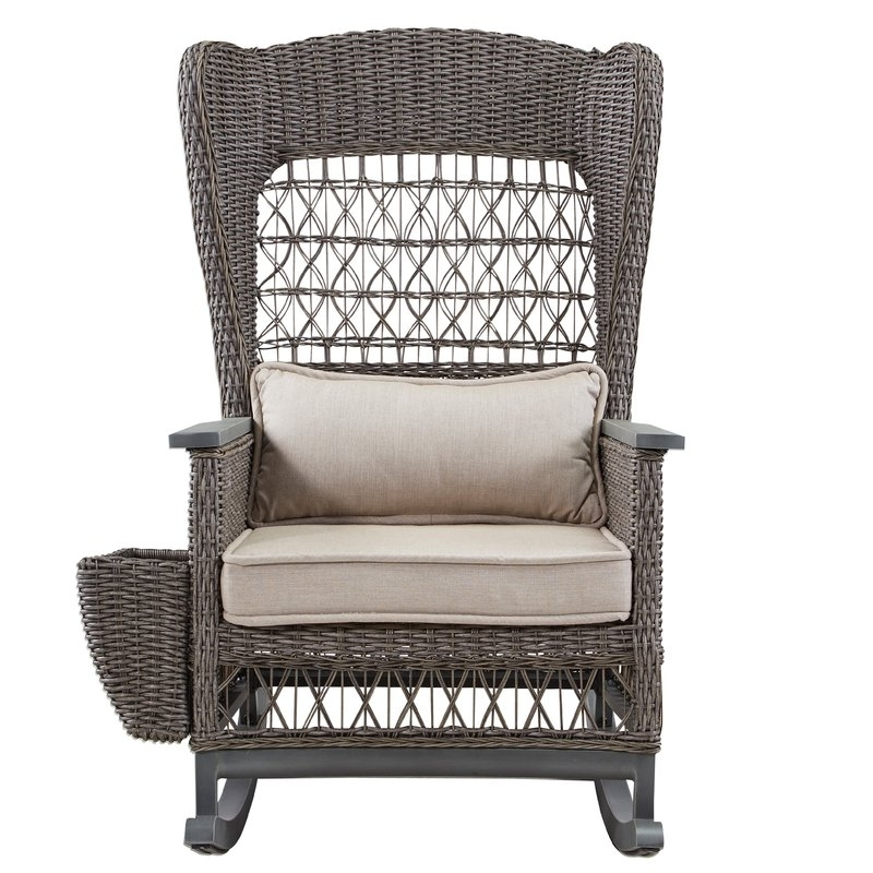 Wayfair For Wicker Rocking Chair With Magazine Holder (View 16 of 20)