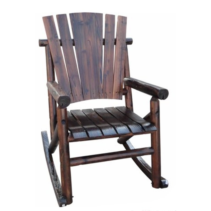 Wayfair Inside Char Log Patio Rocking Chairs With Star (View 16 of 20)
