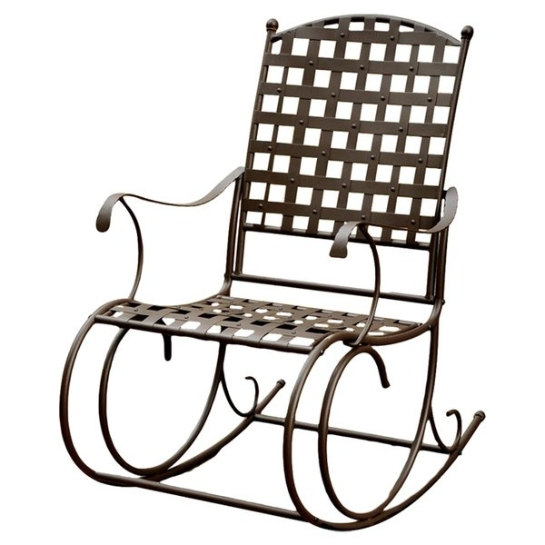 Wayfair With Most Up To Date Patio Metal Rocking Chairs (View 19 of 20)