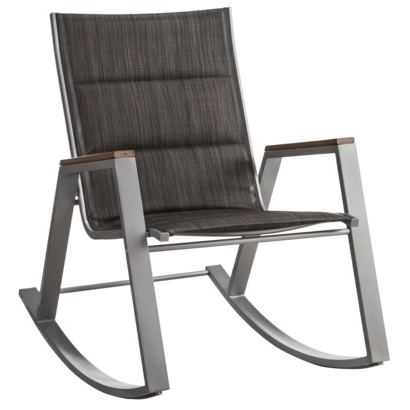 Well Known Patio Sling Rocking Chairs Regarding Rocking Patio Chairs – Decordiva Interiors (View 3 of 20)