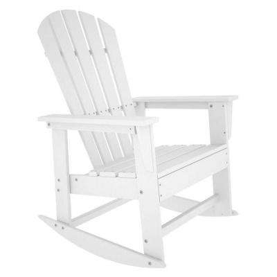 Well Known Rocking Chairs At Home Depot With White – Rocking Chairs – Patio Chairs – The Home Depot (View 19 of 20)
