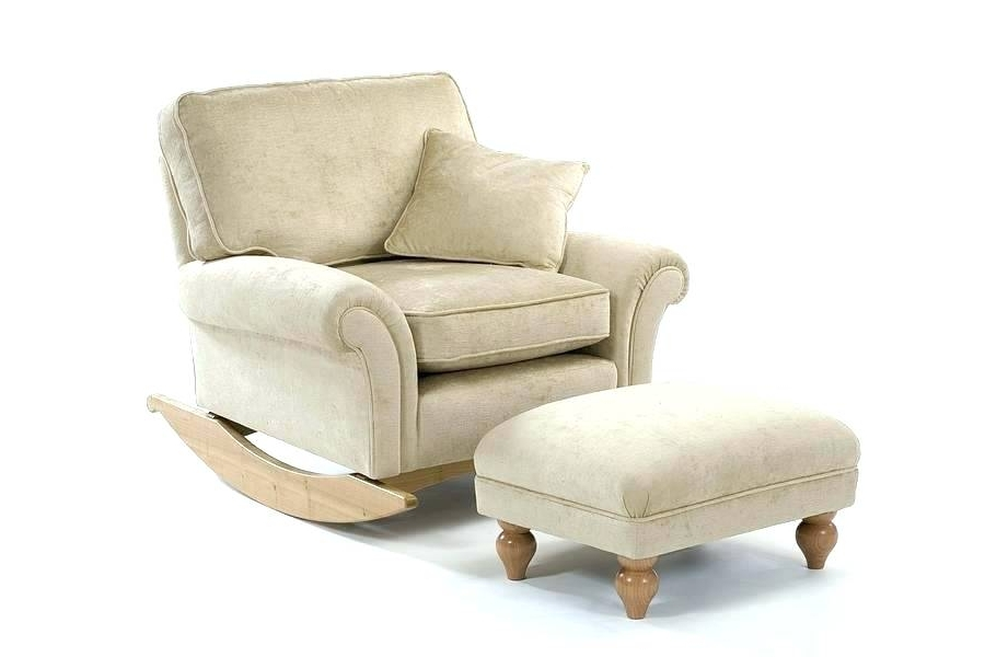 Well Known Rocking Chairs For Nursing Inside Enchanting Cream Nursing Chair Cream Rocking Chair Birch Ply Rocking (View 19 of 20)