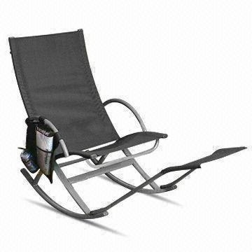 Well Known Rocking Chairs With Footrest In Outdoor Kd Rocking Rest Chair With Footrest, Measures 145 X 58 X (View 17 of 20)