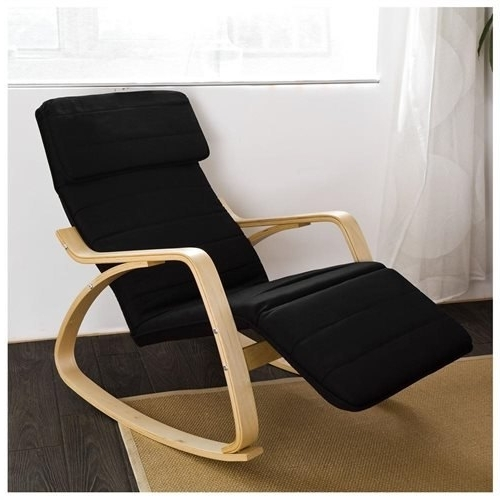Well Known Rocking Chairs With Footrest Pertaining To Haotiangroup: Haotian Comfortable Rocking Chair With Adjustable Foot (View 18 of 20)
