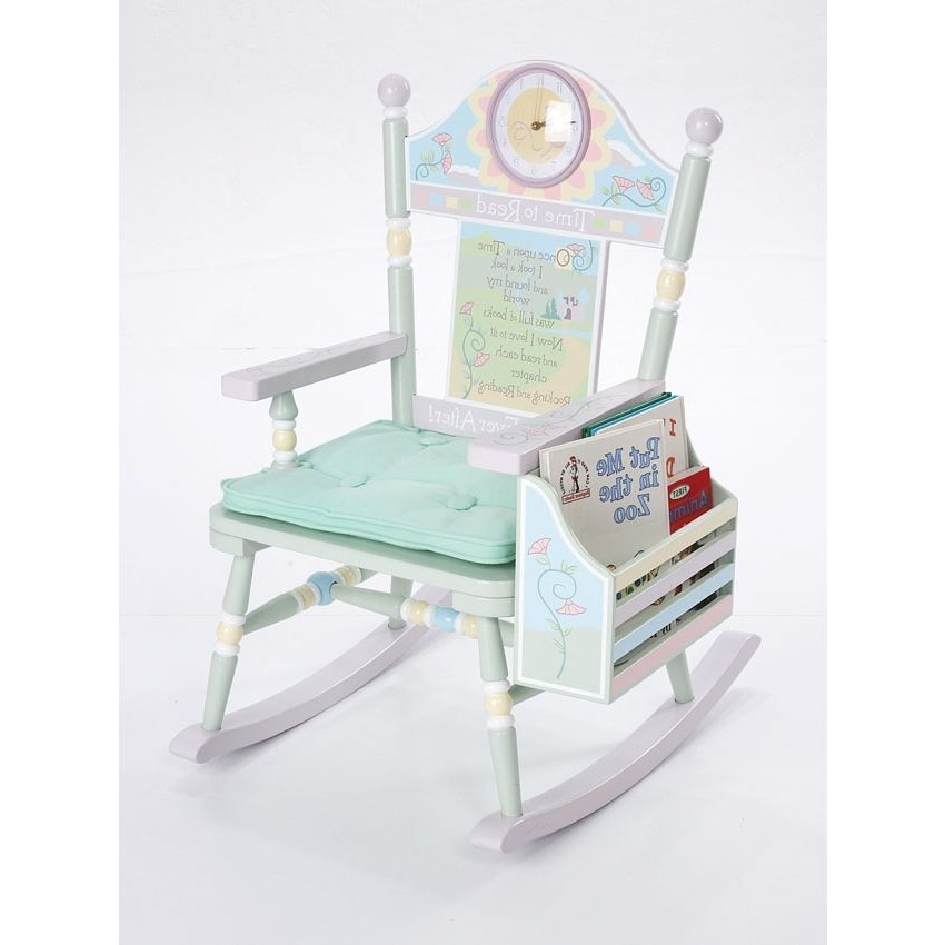 Well Known Toddler Rocking Chair Toddler Rocking Chair Cushions Set (View 19 of 20)