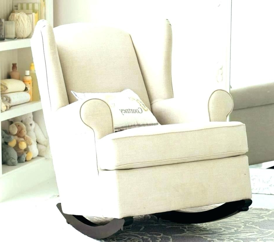 Well Liked Best Breastfeeding Chair Nursery Room Gliders Baby Room Gliders Inside Rocking Chairs For Nursery (View 19 of 20)
