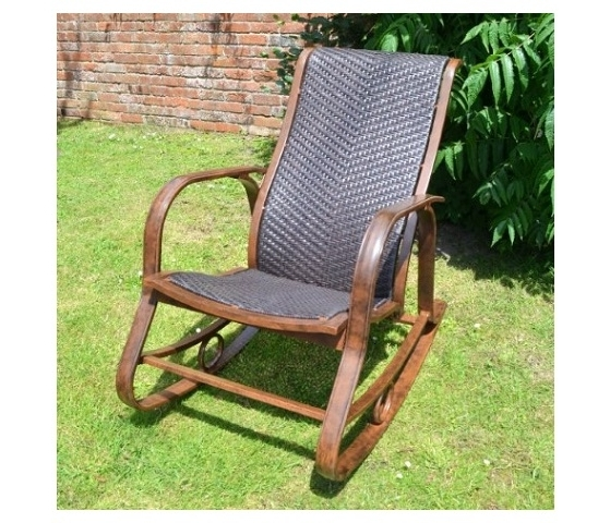 Well Liked Garden Koblenz Rocking Chair Within Rocking Chairs For Garden (View 20 of 20)