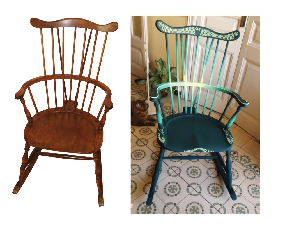 Well Liked Upcycled Rocking Chair – Imgur Inside Upcycled Rocking Chairs (View 19 of 20)