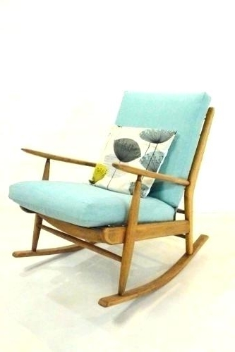 Well Liked Vintage Childs Rocking Chair – Terva (View 20 of 20)