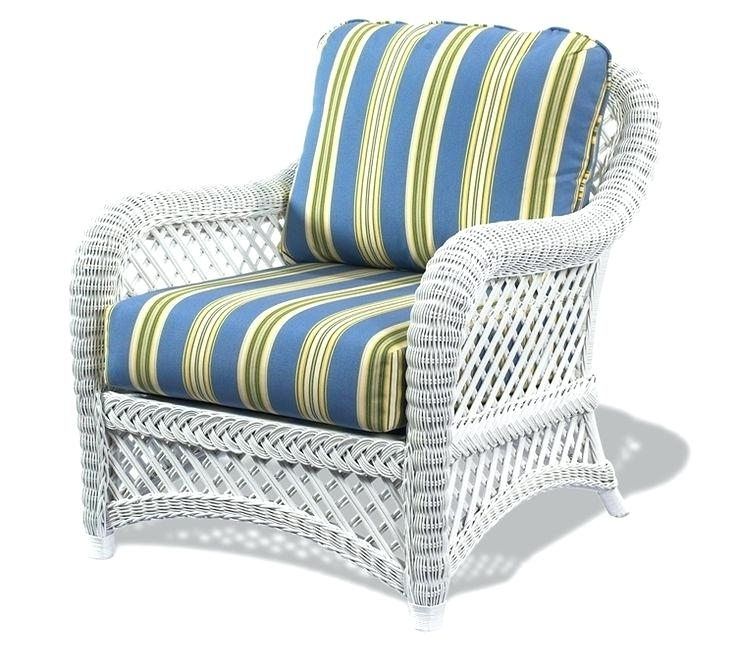 White Chair Pads Patio Stunning 2017 Cheap Wicker Furniture Used With Regard To Widely Used Used Patio Rocking Chairs (View 20 of 20)
