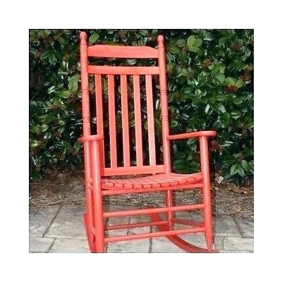 White Indoor Rocking Chair Wooden Indoor Rocking Chairs Red Outdoor With Well Known Red Patio Rocking Chairs (View 16 of 20)