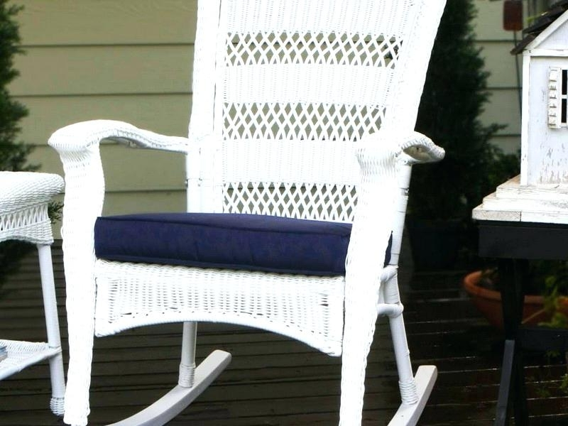 White Resin Patio Rocking Chairs Pertaining To Most Current New White Resin Patio Furniture For White Pacific Resin Commercial (View 15 of 20)