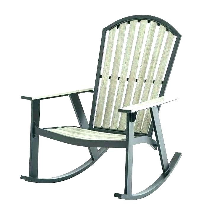 White Resin Patio Rocking Chairs With Regard To Well Liked Exceptional Patio Rocking Chair Set Best White Resin Chairs Wicker (View 19 of 20)