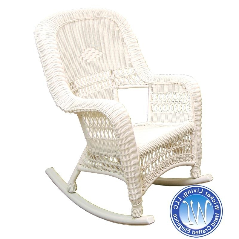 White Resin Rocking Chairs – Advaita Intended For Most Recently Released Plastic Patio Rocking Chairs (View 15 of 20)