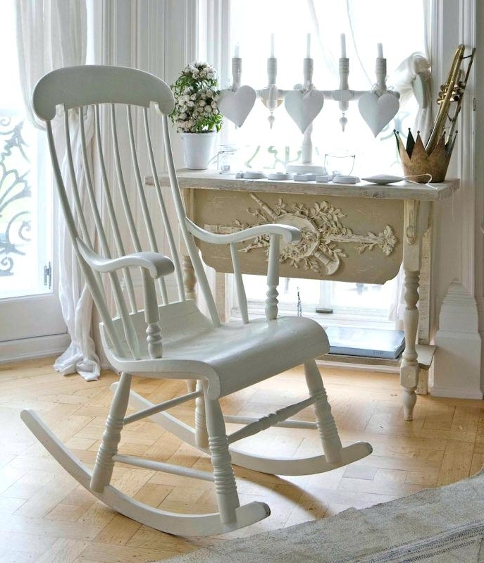 White Wicker Rocking Chair For Nursery In Fashionable Wicker Rocking Chair Nursery Furnituredixie Rocking Chair Baby (View 14 of 20)