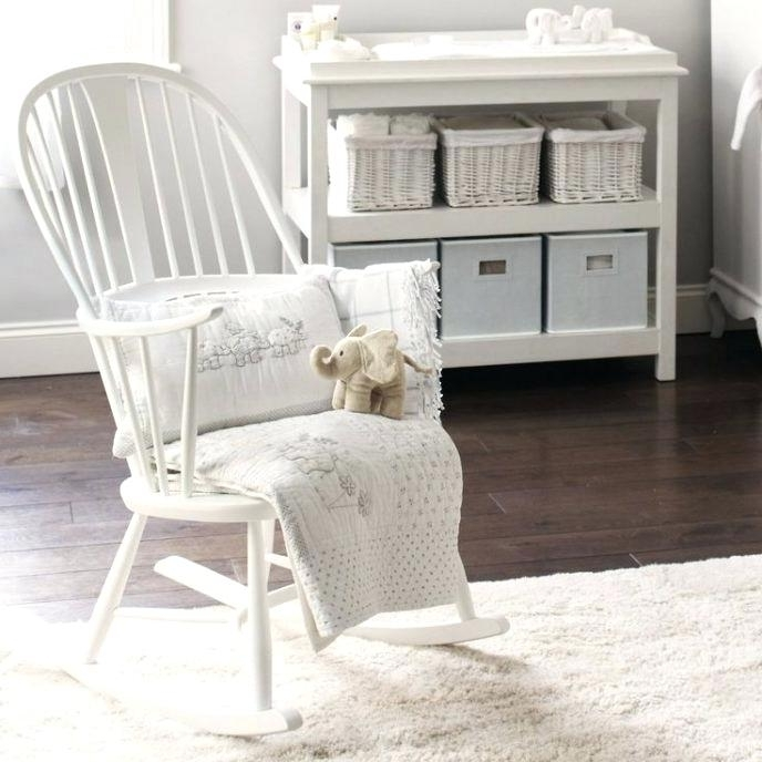 White Wicker Rocking Chair For Nursery Throughout 2018 Captivating White Indoor Rocking Chair – Chairology Gallery (View 18 of 20)