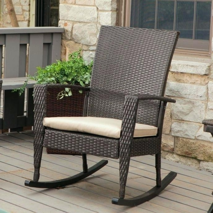 Widely Used Inexpensive Patio Rocking Chairs Within Best Porch Rocking Chairs Medium Size Of Patio Rocking Chairs On Top (View 20 of 20)