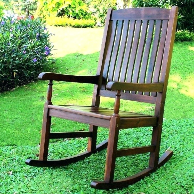 Widely Used Oversized Patio Rocking Chairs Throughout Black Porch Rocking Chairs Outdoor Rocking Chair Comfortable Rocking (View 19 of 20)