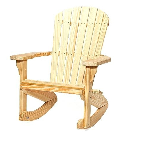 Widely Used Rocking Chair Outdoor Wooden Throughout Outdoor Wooden Rocking Chairs Canada (View 13 of 20)
