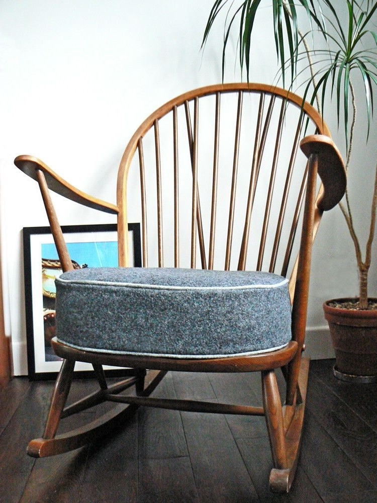 Widely Used Rocking Chairs At Gumtree Throughout Vintage Retro Ercol Rocking Chair On Gumtree (View 20 of 20)