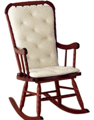 Widely Used Rocking Chairs With Cushions For Amazon : Baby Doll Bedding Heavenly Soft Adult Rocking Chair (View 18 of 20)