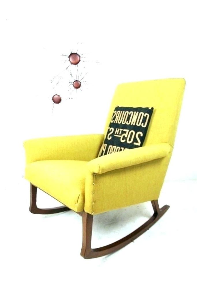 Widely Used Yellow Outdoor Rocking Chairs With Yellow Rocking Chair Cushion Yellow Rocking Chair Cushions Yellow (View 19 of 20)
