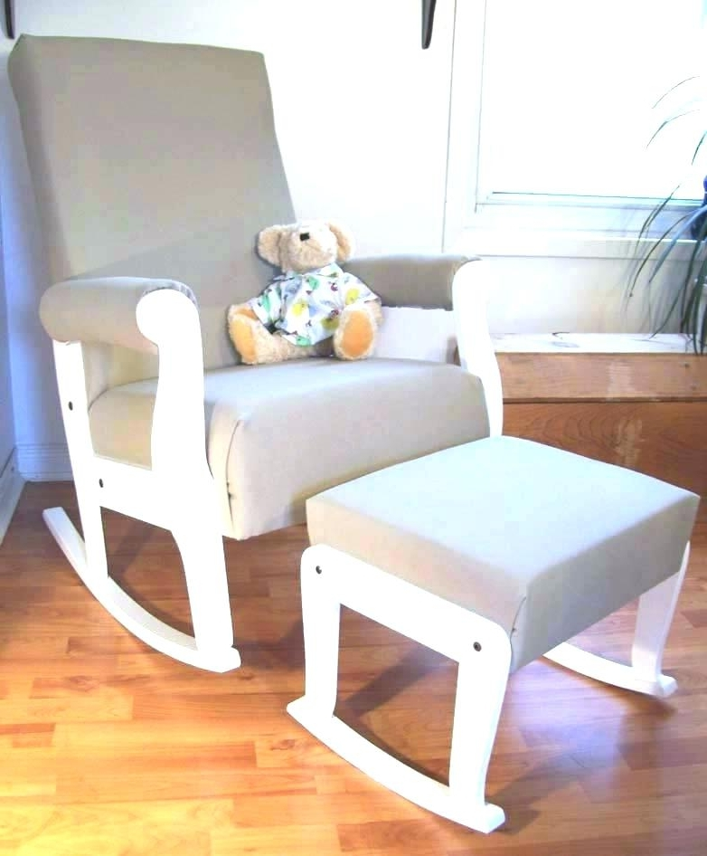 Wood Rocking Chair Nursery Wooden Rocking Chair For Nursery Rocking Inside Trendy Rocking Chairs For Nursery (View 9 of 20)
