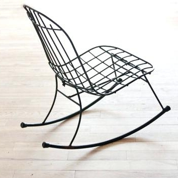 Wrought Iron Chairs – Chair Design Ideas In Best And Newest Wrought Iron Patio Rocking Chairs (View 17 of 20)