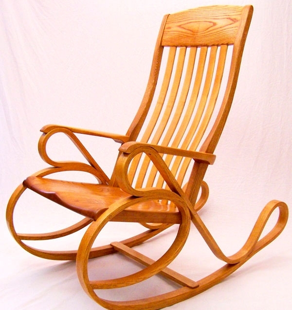 Xl Rocking Chairs With Regard To Famous Bentwood Rocking Chair – Finewoodworking (Gallery 11 of 20)