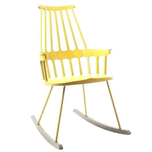 Yellow Outdoor Rocking Chairs Pertaining To 2017 Yellow Outdoor Rocking Chairs – Outdoor Ideas (Gallery 8 of 20)