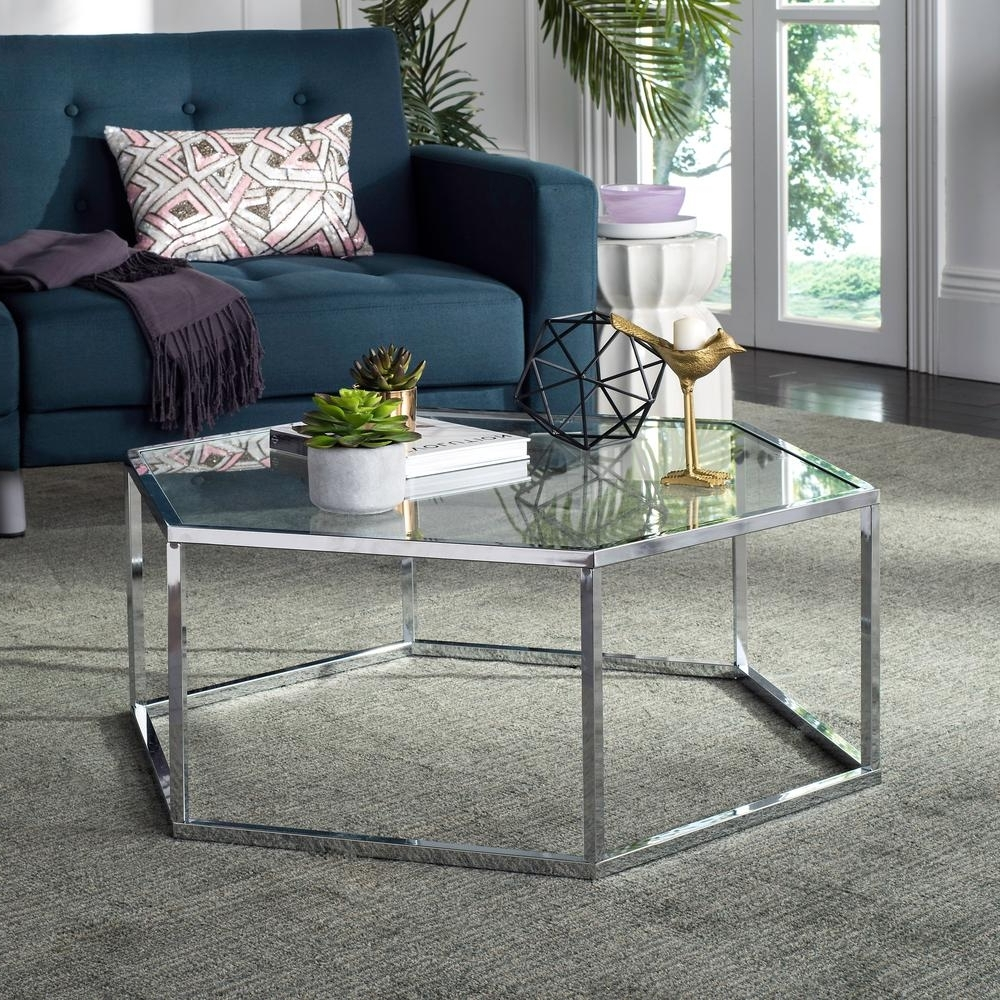 2017 Garten Onyx Chairs With Greywash Finish Set Of 2 With Regard To Safavieh Eliana Glass/chrome Coffee Table Mmt6003A – The Home Depot (View 1 of 20)