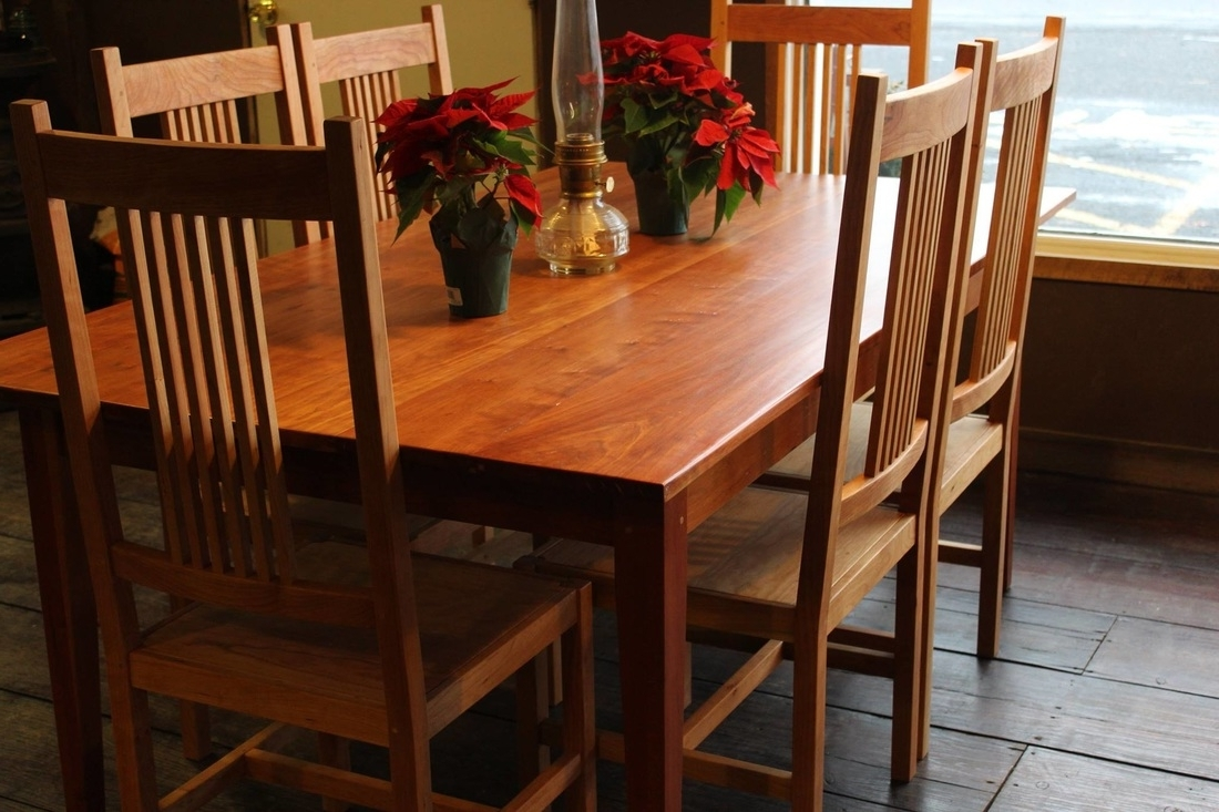 2018 Craftsman Side Chairs With Regard To Chairs/benches – The Shaker Craftsman (View 1 of 20)