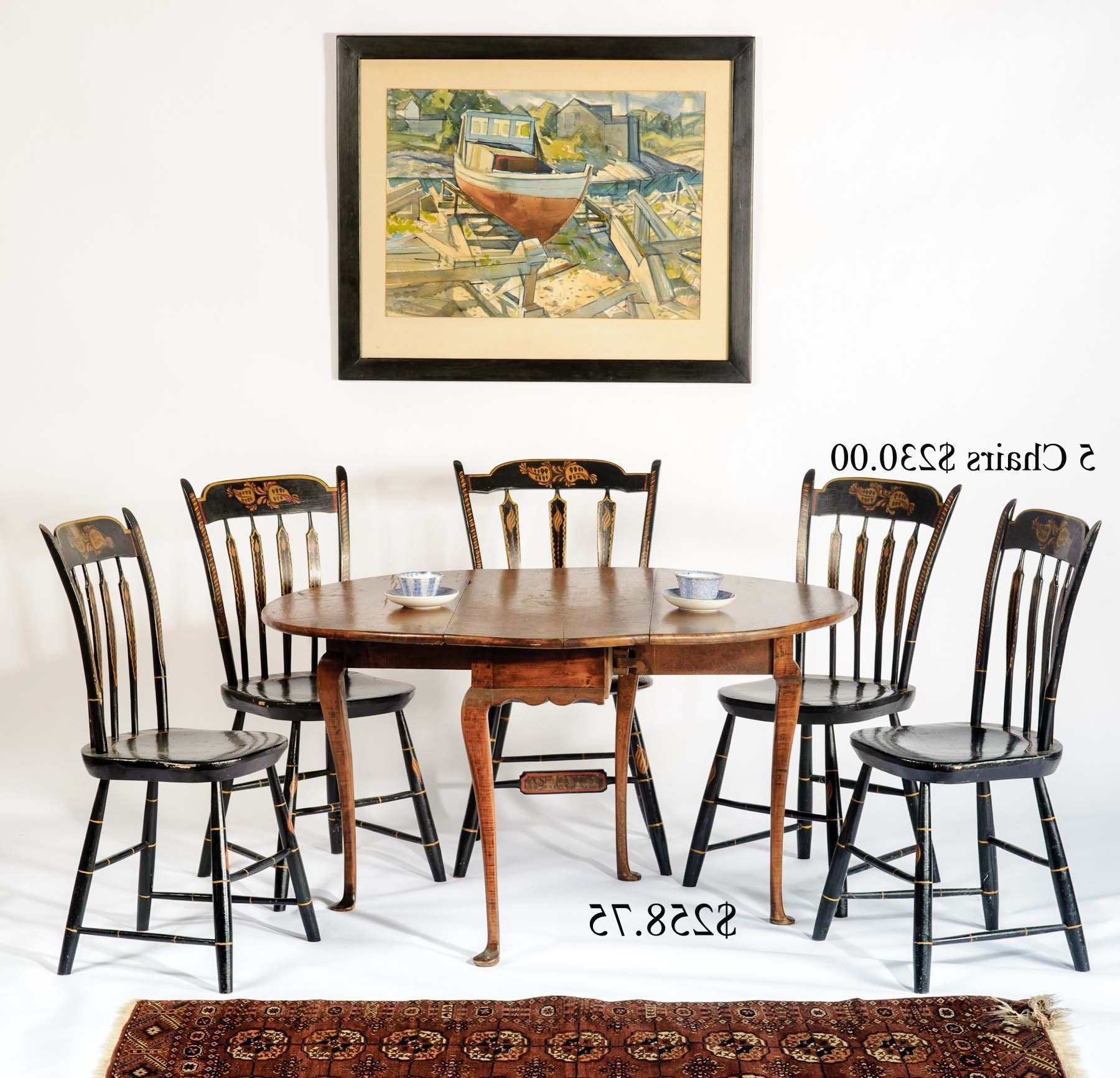 2018 Grady Side Chairs Within Auction Of Estate Antiques (View 1 of 20)