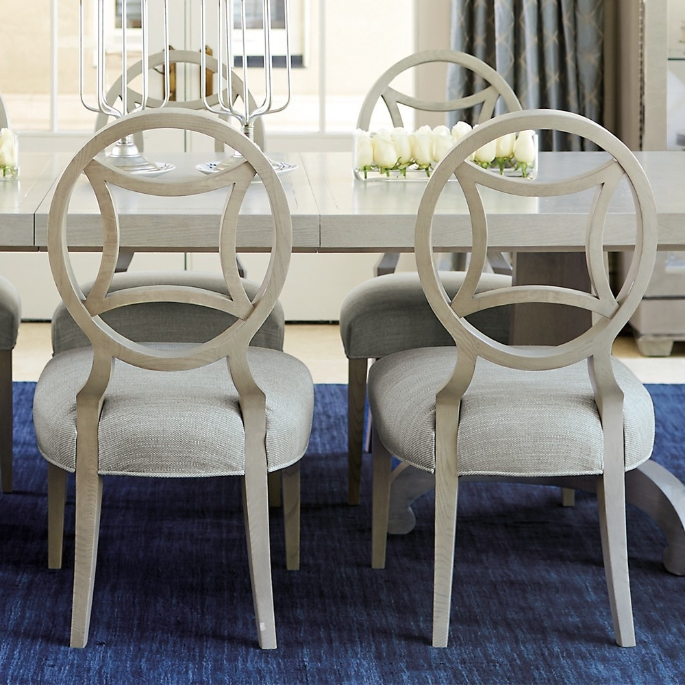 2018 Lindy Dove Grey Side Chairs Inside Criteria Wood Dining Side Chair (Each) In Heather Gray (View 2 of 20)