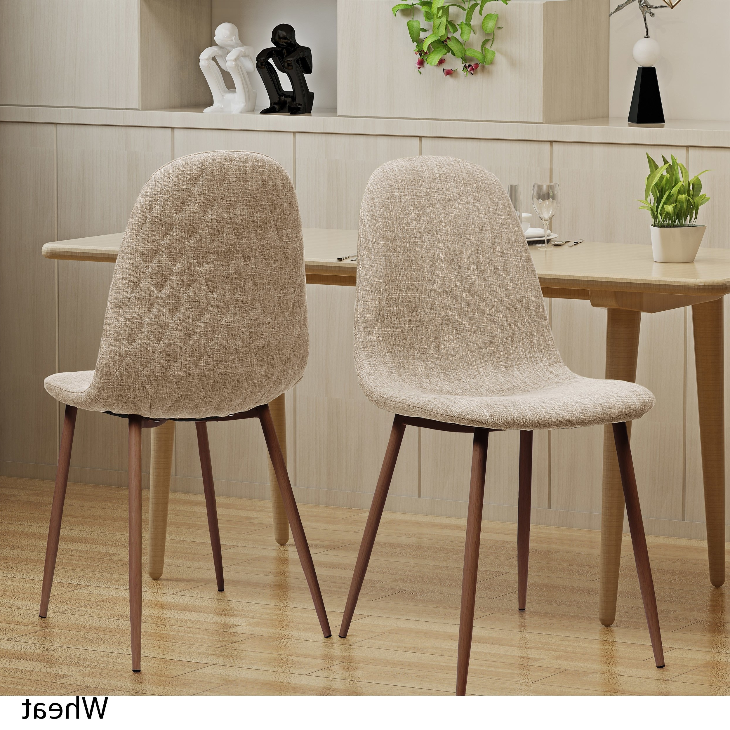 2018 Shop Caden Mid Century Fabric Dining Chair (Set Of 2)Christopher Inside Caden Side Chairs (Gallery 1 of 20)