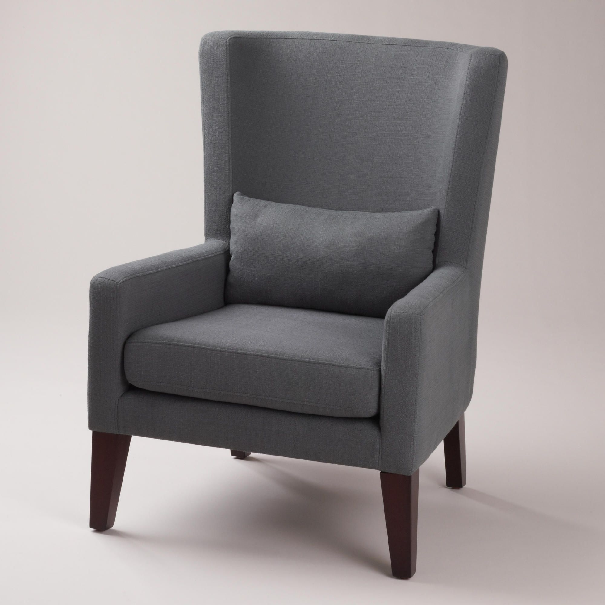 $349 (comes In A Couple Of Colors) Dove Gray Triton High Back Within Well Liked Lindy Dove Grey Side Chairs (View 9 of 20)