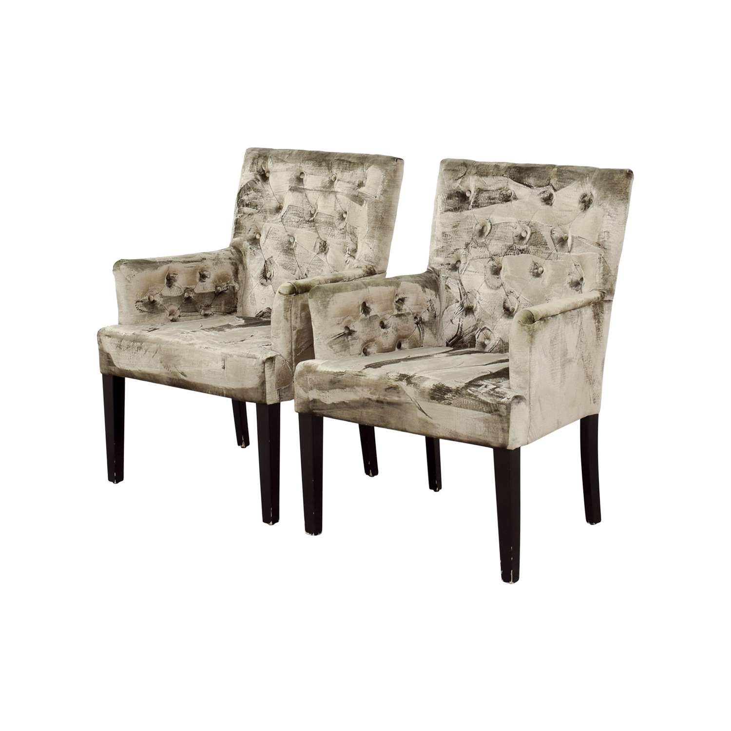 [%90% Off – Z Gallerie Z Gallerie Lola Bella Grey Tufted Arm Chairs In Trendy Lola Side Chairs|Lola Side Chairs Regarding Best And Newest 90% Off – Z Gallerie Z Gallerie Lola Bella Grey Tufted Arm Chairs|Best And Newest Lola Side Chairs Pertaining To 90% Off – Z Gallerie Z Gallerie Lola Bella Grey Tufted Arm Chairs|Preferred 90% Off – Z Gallerie Z Gallerie Lola Bella Grey Tufted Arm Chairs Inside Lola Side Chairs%] (View 1 of 20)