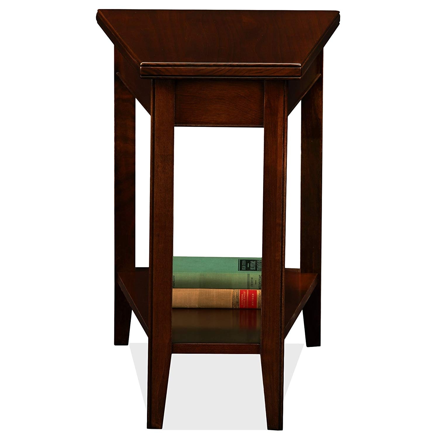 Amazon: Leick Laurent Recliner Wedge End Table: Kitchen & Dining Throughout Trendy Laurent Wood Side Chairs (Gallery 6 of 20)