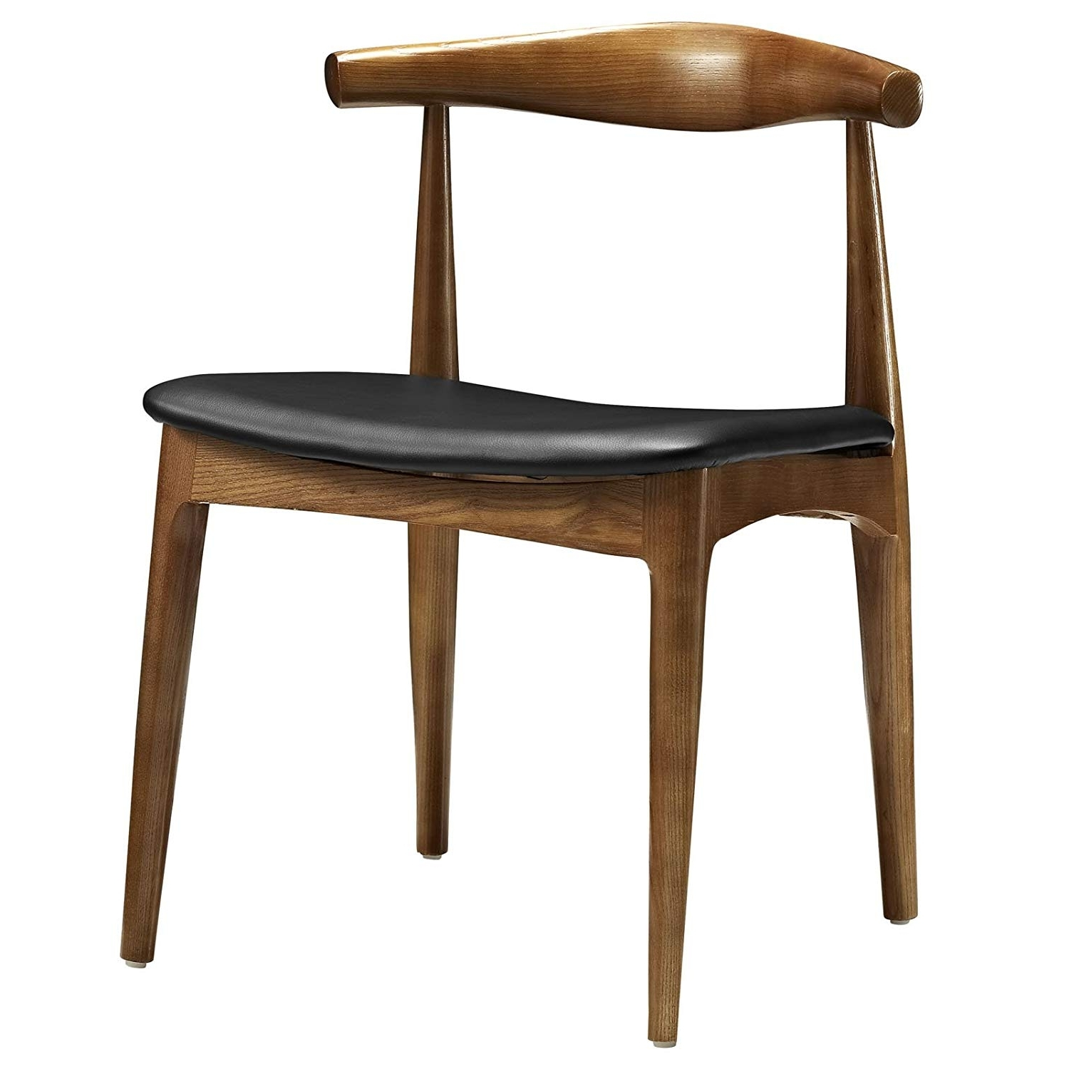 Amazon – Modway Tracy Mid Century Dining Side Chair With Faux With Widely Used Gunner Side Chairs (View 2 of 20)